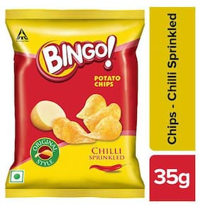 Bingo Yumitos Potato Chips - Original Style, Chilli 28 g