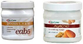 Bio Care Combo of Eab5 Cream And Almond Cream(500 ml)