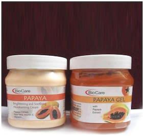 Bio Care Combo of Papaya Cream And Papaya Gel