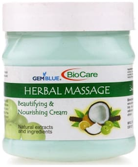 Bio Care Herbal Massage Cream (500 ml)