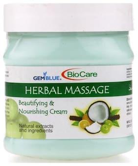 Bio Care Herbal Massage Face And Body Cream 400g