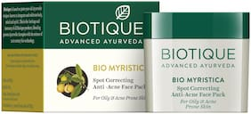Biotique Bio Myristica Spot Correcting Anti Acne Face Pack 20 g