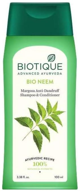 Biotique Bio Neem Margosa Anti-Dandruff Shampoo & Conditioner 100 ml