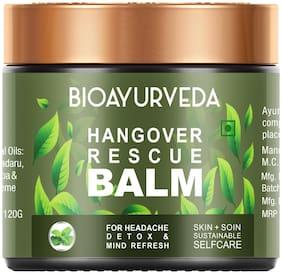 Bioayurveda Hangover Rescue Balm Hangover Recovery Cream - 120 g