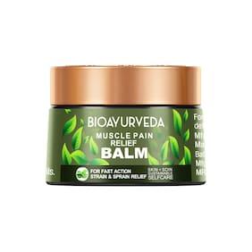 BIOAYURVEDA Organic Muscle Pain Relief Balm, Instant Healing Balm -40 g