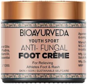 BIOAYURVEDA Youth Sport Anti-Fungal Foot Cream 120g