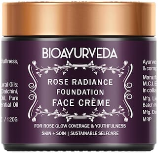 BIOAYURVEDA Rose Radiance Foundation Face Cream - 120 g