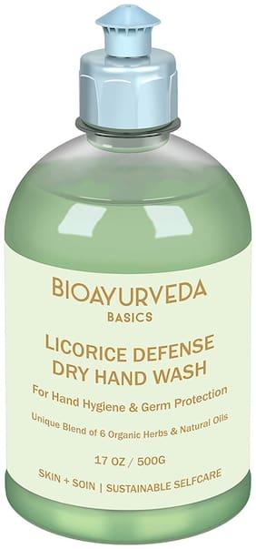 BIOAYURVEDA Licorice Defense Dry Hand Wash 500 ml