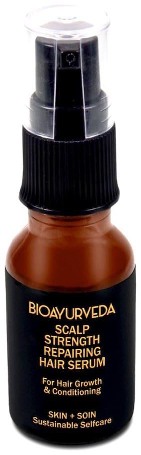 BIOAYURVEDA Scalp Strength Repairing Hair Serum 15ml