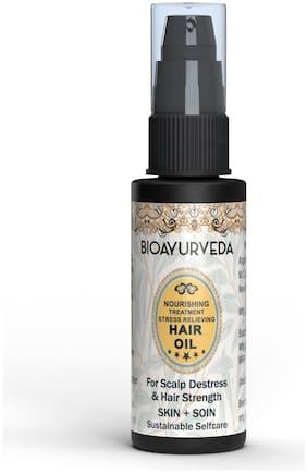 BIOAYURVEDA Nourishing Treatment Stress Relieving Hair Oil 30ml
