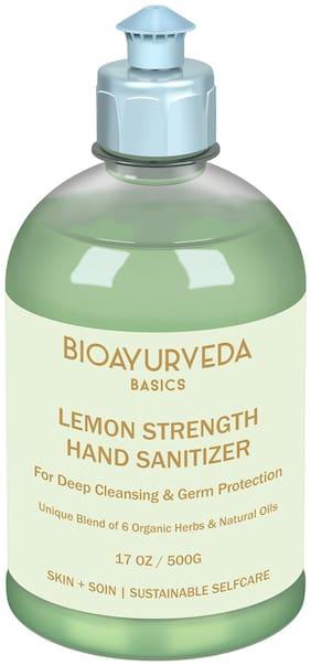 Bioayurveda Lemon Strength Dry Hand Sanitizer 500 ml