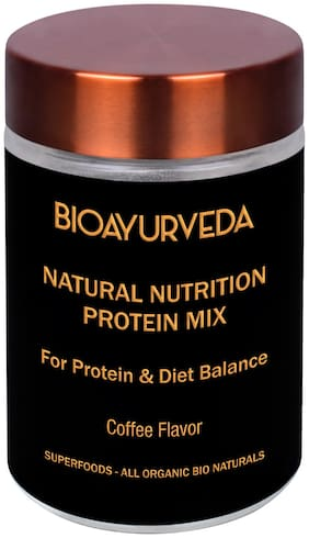 Bioayurveda Natural Nutrition Protein Mix Coffee Flavour 750 g