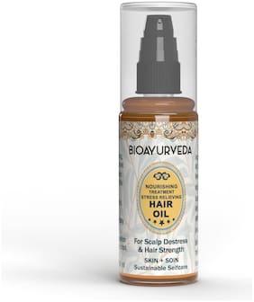 BIOAYURVEDA Nourishing Treatment Stress Relieving Hair Oil 60ml