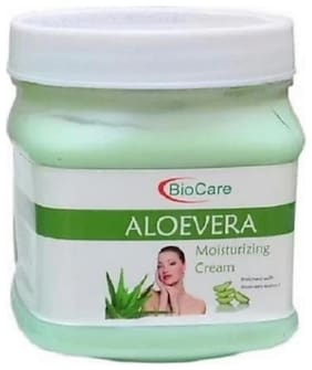 Biocare Aloevera Face Cream Nourishment Moisturization -500ml (Pack of 1)