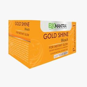 BioMantra GOLD SHINE  BLEACH  250gm
