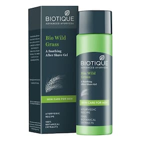 BIOTIQUE After Shave Gel - Bio Grass 120 ml