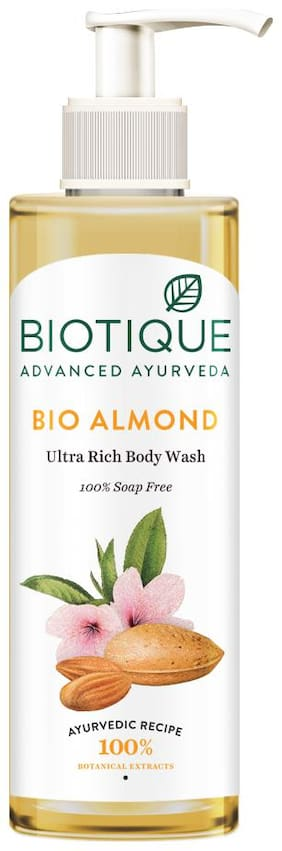 Biotique Almond Oil Body Wash 200 ml