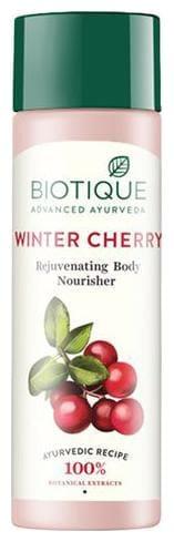 BIOTIQUE Bio Wintercherry - Lightening & Rejuvenating Body Nourisher 190 ml