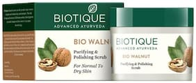 Biotique Bio Walnut - Purifying & Polishing Scrub For All Skin Types 50 g