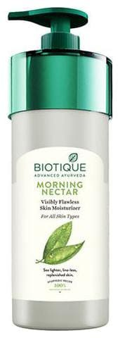 BIOTIQUE Bio Morning Nectar Flawless Skin Lotion - For All Skin Types 800 ml