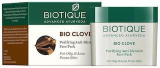 Biotique Bio Clove Purifying Antiblemish Face Pack For Oily & Acne Prone Skin 75 g