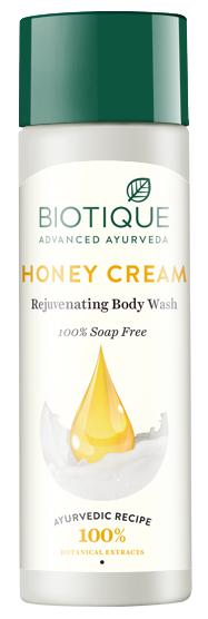 Biotique Bio Honey Cream 190 ml Lightening Body Wash