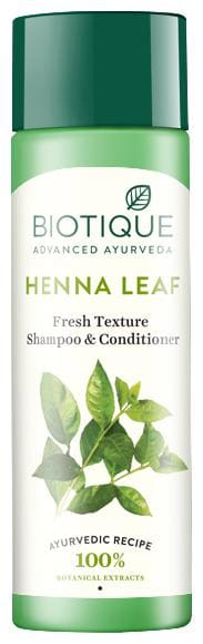 Biotique Bio Heena Leaf Fresh Texture Shampoo & Conditioner