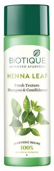 Biotique Bio Heena Leaf Fresh Texture Shampoo & Conditioner
