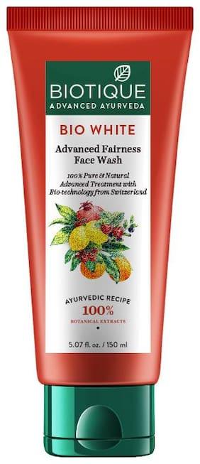 Biotique Bio White Advanced Fairness Face Wash For All Skin Types