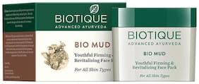 Biotique Bio Mud Youthful Firming & Revitalizing Face Pack For All Skin Types