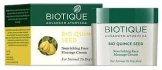 Biotique Bio Quince Seed Nourishing Face Massage Cream For Normal To Dry Skin