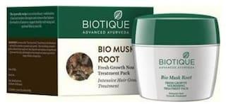 Biotique Bio Musk Root Fresh Growth Nourishing Treatment Pack Intensive Hair Growth Treatment