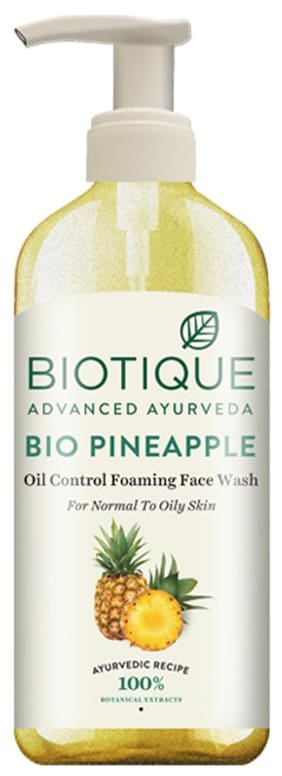 Biotique Bio Pinapple Face Wash 300 ml