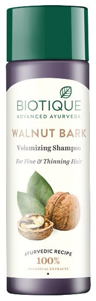 Biotique Bio Walnut Bark Body Building Shampoo For Fine & Thinning Hair