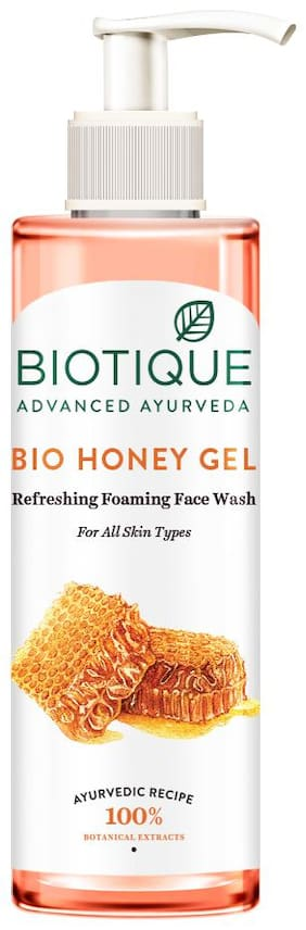 Biotique Bio Honey Gel Hydrating Foaming Face Wash 200ml