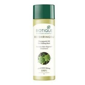 Biotique Bio Bhringraj Therapeutic Oil For Falling Hair Intensive Hair Regrowth Treatment