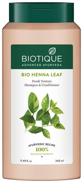 Biotique Bio Henna leaf Hair Cleanser Shampoo & Conditioner 340ml