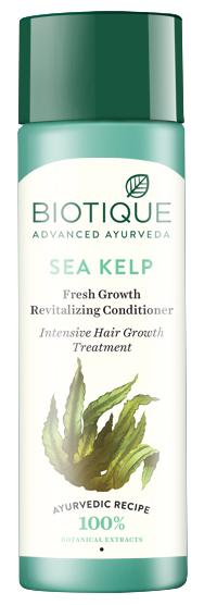 Biotique Bio Sea Kelp Fresh Growth Revitalizing Conditioner Intensive Hair Growth Treatment