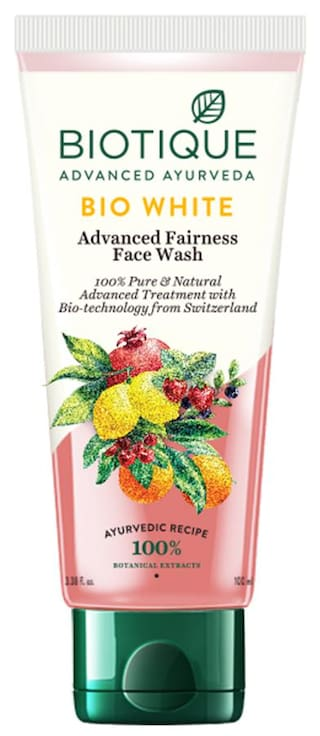 Biotique Bio White Advanced Fairness Face Wash For All Skin Types
