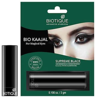 Biotique Bio Kaajal Nourishing & Conditioning Kaajal With Almond Oil