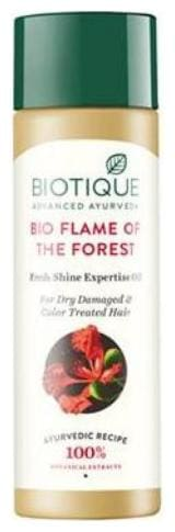 Biotique Bio Flame of The Forest Fresh Shine Expertise Oil For Dry Damaged & Color Treated Hair