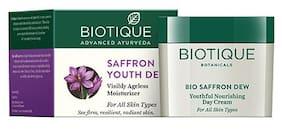 Biotique Bio Saffron Dew Youthful Nourishing Day Cream For All Skin Types