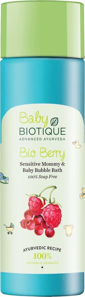 Biotique Bio Berry Sensitive Mommy & Baby Bubble Bath 120 ml