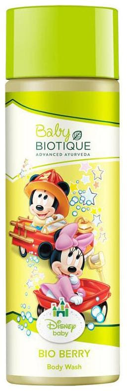 Biotique Bio Disney Mickey Baby Body Wash Berry 190 ml