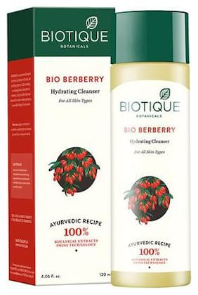 Biotique Bio Berberry - Refreshing Cleansing Lotion For All Skin Types 120 ml