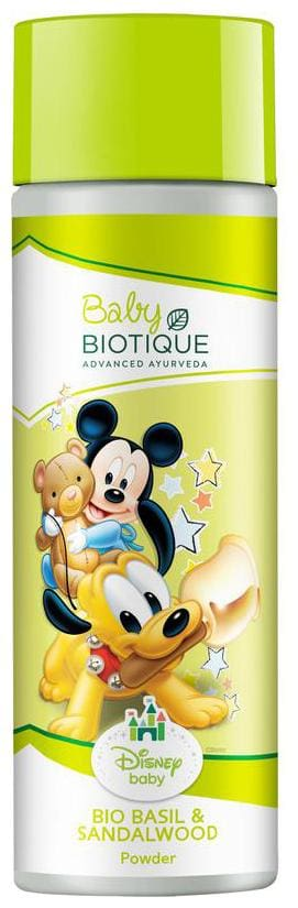 Biotique Disney Mickey Baby Powder Basil And Red Sandalwood 150 gm