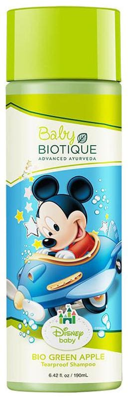 Biotique Disney Baby Bio Green Apple Mickey Tearproof Shampoo