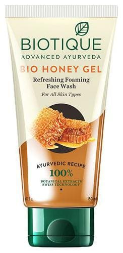 Biotique Face Wash - Bio Honey Gel Hydrating For All Skin Types 150 ml