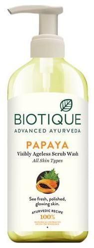 Biotique Face Wash Exfoliating  Bio Papaya  For All Skintypes 300 Ml