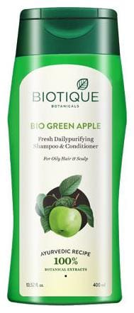 Biotique Organic - Bio Green Apple Shampoo & Conditioner 400 ml